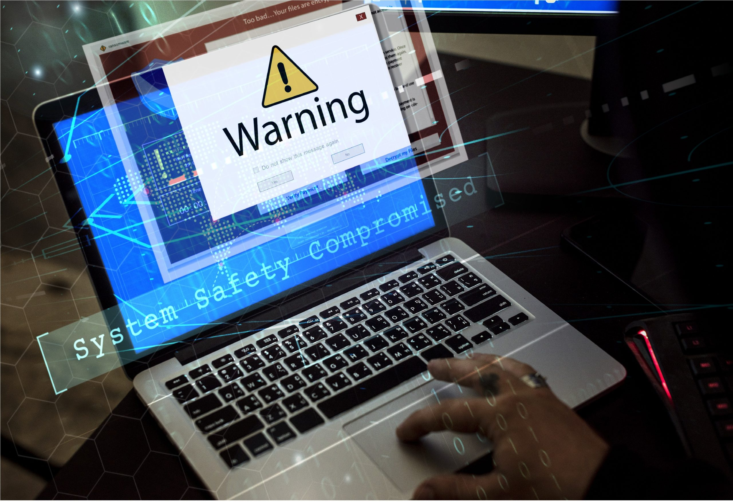 Cyber attacks on logistics companies: Freight Forwarders, protect your data from ransomware