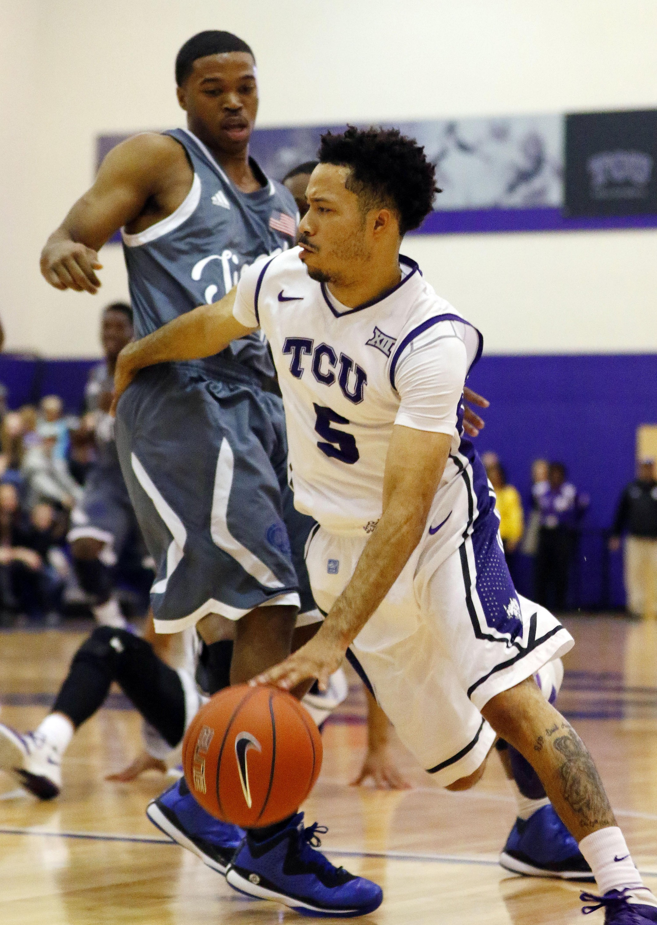 on sale 68e78 30231 TCU Derails Tennessee State, 60-40 - TCU Athletics