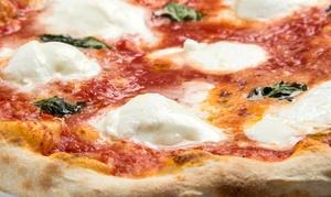 Menu pizza con antipasto toscano, dolce e birra per 2 o 4 persone al ristorante Pinzimonio (sconto fino a 61%)