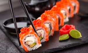 Menu sushi All you can eat per 2 persone al Zora Sushi Restaurant (sconto fino a 46%)