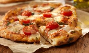 Menu Pizza da asporto con birra per 2 o 4 persone al ristorante DoppioZero (sconto fino a 61%)