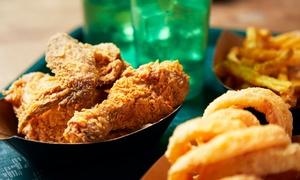 Pollo fritto e bevanda per una o 2 persone all'Osteria del Calciante (sconto fino a 14%). Consegna o asporto