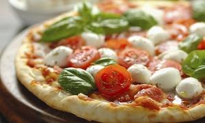 Menu pizza con antipasto, dolce e bevanda per 2 persone al Ristorante Pizzeria La Pianella (sconto fino a 65%)