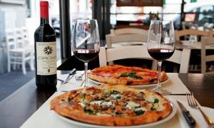 Menu con antipasto o primo, pizza alla carta, dolce e calice di vino al ristorante Cipiglio. (sconto fino a 77%)