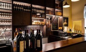 ⏰ Tagliere e degustazione vino per 2 persone al wine bar Retrogusto Enoteca (sconto fino a 62%) Prenota&Vai!