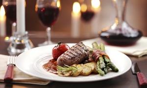 """Cena """"Terra & mare"""" alla carta con calice di vino per 2 persone all'Osteria Il Borgo (sconto fino a 60%)"""