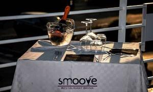 ⏰ Aperitivo in terrazza con servizio tavolo o Menu di mare da Smoove Restaurant (sconto fino a 57%). Prenota&Vai!