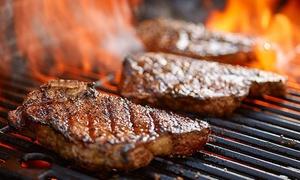 Menu con arepas, churrasco, dolce e vino per 2 o 4 persone alla Steakhouse FuoriGioco (sconto fino a 69%)
