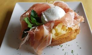 ⏰Menu con patate ripiene da 500 gr, piatto unico e dolce da Occome Bistrot in 2 sedi (sconto fino a 43%). Prenota&Vai!