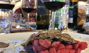 Menu gourmet di 3 o 4 portate con vino per 2 persone al ristorante La Capannina sul Lago (sconto fino a 53%)
