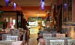 Menu di mare con vino, sorbetto e caffè per 2 o 4 persone al Ristorante San Martino (sconto fino a 63%)