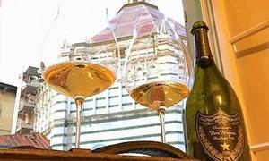 Degustazione di 4 calici vini e tipicità di mare e terra per 2 persone alla Perlage Enoteca Wine Bar (sconto fino a 53%)