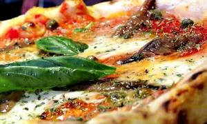 Menu pizza e birra per 2 persone alla pizzeria La Pala D'Oro Della Borgata, San Giuliano Terme