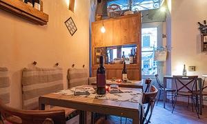 Degustazione romantica con calice di vino selezionato al Baccanale Bistrò di Lucca (sconto 40%)