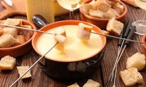 Menu fondue con formaggi tipici, dolce e vino al ristorante l'Accademia del formaggio (sconto fino a 65%)