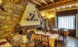 Zocchi dal 1783: tagliere di antipasti, pizza Deluxe, dolce e vino, con vista sul Parco Demidoff. Prenota&Vai!