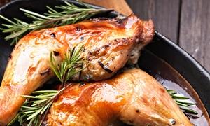 Pranzo della domenica con arrosto e vino per 2 o 4 persone al ristorante Rugantino (sconto 59%)