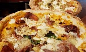Menu pizza con antipasto e birra al ristorante Matto Matto, in centro a Firenze (sconto fino a 65%)