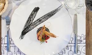 Degustazione di mare da 5 o 8 portate con calice di vino per 2 persone al Bistrot Talè