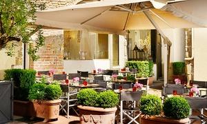 Pranzo gourmet con salumi DOP, primo, gelato artigianale e vino all'Osteria della Pagliazza, zona Duomo (sconto 74%)