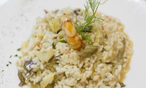 Menu di terra, mare o Fiorentina, antipasto, dolce e vino per 2 da La Taverna Degli Artisti (sconto fino a 52%)