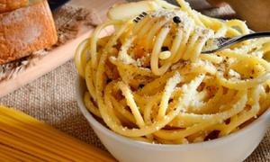 Menu ai sapori toscani con Chianti per 2 o 4 persone all'Osteria del Borgo (sconto 55%)