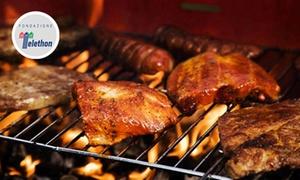 Menu con 1 kg di grigliata di carne e vino per 2 persone da Uva Fragola (sconto fino a 63%)