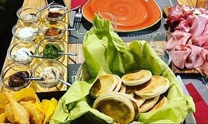 Menu tipico con tigelle, gnocco fritto e birra per 2 o 4 persone alla Tigelleria Toscana (sconto fino a 53%)