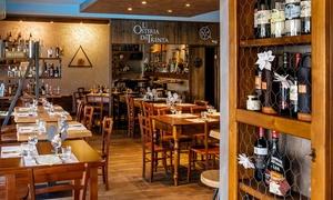 ⏰ Menu da 3 o 4 portate e vino per 2 persone all'Osteria dei Trenta, zona Chianti (sconto fino a 66%). Prenota&Vai!