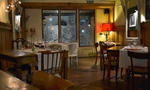 Baccarossa, 2 forchette Michelin - Cena a lume di candela con 6 portate di pesce o Toscano Doc vicino Santa Croce