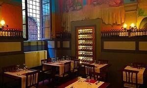 1 kg di Fiorentina e bottiglia di vino per 2 persone al ristorante Vecchia Firenze, centro storico (sconto fino a 54%)