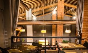 Menu di terra alla carta con tagliata e calice di vino al ristorante VerdeRame di Osmannoro (sconto fino a 58%)