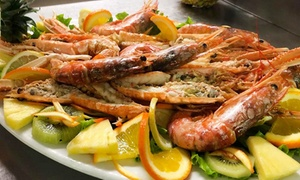 Menu di mare da 3 o 4 portate con vino al ristorante La Campana del Circolo Tennis Etruria di Prato (sconto fino a 56%)
