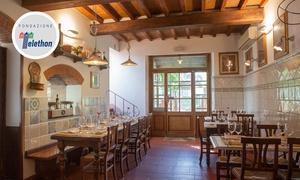 Trattoria Il Vecchio Cigno: menu alla carta con filetto, Fiorentina, altre specialità regionali e vino. Prenota&Vai!