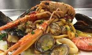 Menu di pesce da 3 o 4 portate con Falanghina per 2 o 4 portate al Ristorantino di Pesce (sconto fino a 52%)