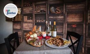 Cena à la carte di eccellenze mediterranee per 2 persone da L'Oro Del Cilento (sconto 59%)
