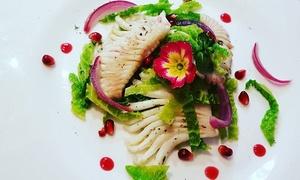 Romantico menu gourmet di mare da 3 o 4 portate e vino per 2 persone al Ristorante Giovanni (sconto fino a 58%)