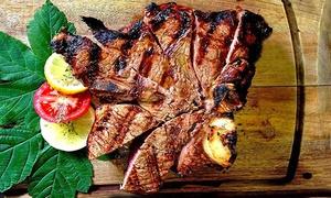 Menu con fino a 2 kg di grigliata, antipasto, dolce e vino per 2 o 4 persone da Lago Lo Specchio (sconto fino a 68%)