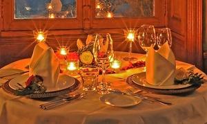 Cena romantica esclusiva alla carta con bottiglia di vino o champagne per 2 persone alla Perlage Enoteca Wine Bar