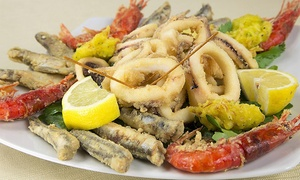 Menu con 1 kg di pesce fritto a scelta per 2 persone al ristorante La Costiera Amalfitana (sconto fino a 59%)