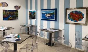 Menu di pesce a la cartè di 3 o 4 portate con calice di vino al ristorante il Pesce che Vorrei (sconto 62%)