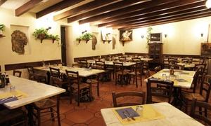 Cena toscana à la carte con bottiglia di vino per 2 persone alla Trattoria Anna, Borgo San Frediano (sconto fino a 63%)