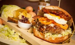 ⏰ Menu hamburger IGP con vino per 2 persone o buono sconto alla Trattoria Locanda Dino (sconto fino a 48%). Prenota&Vai!