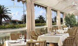 Principe di Piemonte - Regina: ristorante panoramico con vista sul lungomare di Viareggio da 44,90 €