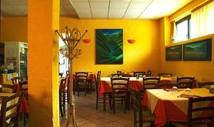 Menu di 4 portate con vino e caffè per 2 o 4 persone al ristorante La Capannina (sconto fino a 52%)
