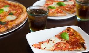 Menu d'asporto con pizze a scelta e bibite analcoliche al Giustapizza '88 (sconto 45%)