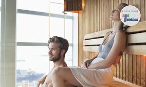 Ingresso e massaggio, Terme di Bognanco