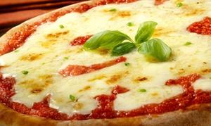 Menu a scelta tra pizza o alla carta con calice di vino per 2 o 4 persone al Jazz bistrot (sconto fino a 36%)