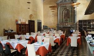 ⏰Menu di mare alla carta e vino per 2 persone al ristorante La chiesa Pistoia (sconto fino a 27%). Prenota&Vai!