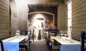 Menu gourmet di terra e mare con vino per 2 persone da San Niccolò 39, zona Piazzale Michelangelo (sconto fino a 55%)